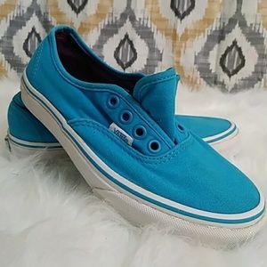 VANS Bright Blue/ Turquoise Men's Size 4